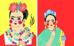 """Check out this @Behance project: """"La Frida Zine"""" https://www.behance.net/gallery/41904525/La-Frida-Zine"""