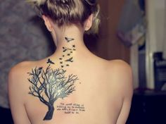Tree Tattoos For Women | 30 Cool Tattoo Ideas You Don't Want To Miss - SloDive