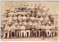 METIER - UN GROUPE D OUVRIERS - PHOTO 22 X 15 CM
