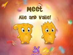 Meet Valie and Alie - little Vixes!