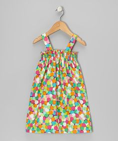 Take a look at this Purple Confetti Dot Sierra Dress - Infant, Toddler & Girls by Hippo Hula on #zulily today!