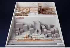 2013 한국건축문화대상 Interior Architecture Drawing, Maquette Architecture, Architecture Sketchbook, School Architecture, Tiny House Village, Urban Design Plan, Making A Model, City Model, Arch Model