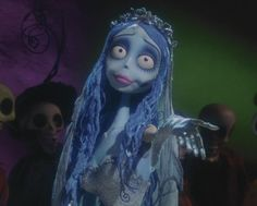 Emily from Tim Burton's: The Corpse Bride ©2005 WARNER BROS. ENTERTAINMENT INC