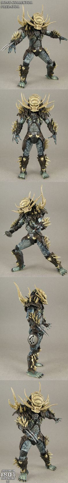 Custom Bone Collector NECA Predator figure by Jin-Saotome on DeviantArt