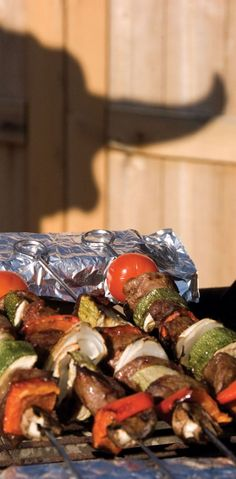 Dr. Kevin Weiland of Rapid City has a recipe for bison kebabs that's both healthy and delicious.