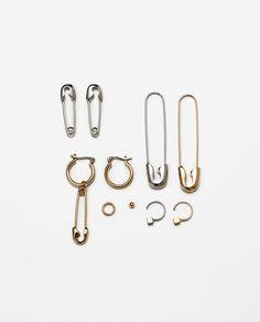 Imagem 1 de PACK BRINCOS ALFINETES da Zara