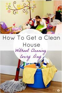 With four small children, I could literally spend every minute of every day picking up clothes, washing dishes, vacuuming crushed fishy crackers from the carpet, mopping juice spills, and removing toys...