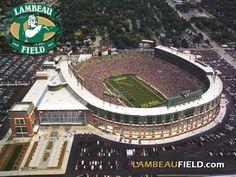 Lambeau Field. Heaven on earth.