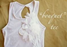 "~Ruffles And Stuff~: ""Bouquet"" T-shirt Tutorial!"