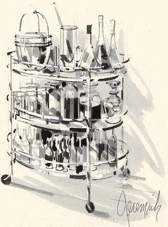 Jeremiah Goodman - Illustrations