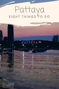 Eight things to do in Pattaya - Pattaya attractions - Pattaya activities Thailand