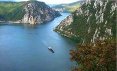 Danube Gorge in Romania, one of the most beautiful places in the country. Wonderful Places, Beautiful Places, Budapest, Danube River, Iron Gates, Real Estate Investor, Romania, Tourism, Around The Worlds