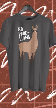 Cool Funny Llama Quote T Shirt Design.
