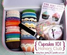 Cupcakes 101 Baking Kit...could totally be DIYed