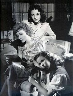 Claudette Colbert, Jennifer Jones, Shirley Temple - Since You Went Away (1944)