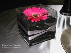 gerber daisy centerpieces | Creative Touch Wedding Designs: Elegance Decor Pkg Centerpiece Samples