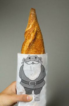 cool packaging idea for bread