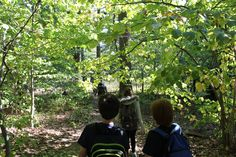 Inwood Hill Park Ecology Tour with the 6th grade