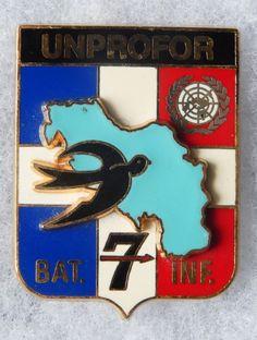INSIGNE OPEX - 170° Régiment d'Infanterie - BAT INF 7