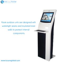#KIOSK outdoor units are #designed with #watertight seams and #insulated inner #walls to protect internal #components.  #TucanaGlobalTecnology #Manufacturer #HongKong