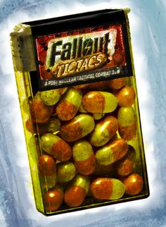 #Fallout Tictacs by Dawid Korzekwa
