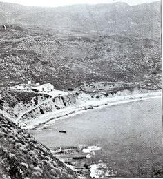 1900 Portuguese bend in Palos Verdes California.