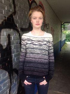 Ravelry: Missoni Into Darkness Sweater pattern by Boadicea Binnerts