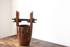 Items similar to Big 15 inches traditional Japanese cedar wood vase vintage big wooden ikebana vase flower ornament home deco vase Japan on Etsy Vintage Gifts, Etsy Vintage, Vintage Shops, Ikebana, Japanese Modern, Wood Vase, Flower Ornaments, Vintage Pottery, Traditional