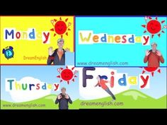 ▶ Weekday Songs: Monday, Tuesday, Wednesday, Thursday, Friday - YouTube