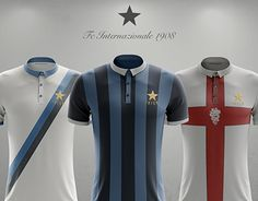 """Check out new work on my @Behance portfolio: """"Vintage unbranded concept FC Intenzionale 1908"""" http://be.net/gallery/44688407/Vintage-unbranded-concept-FC-Intenzionale-1908"""