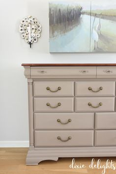 Painting nice furniture with chalk paint