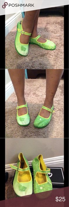 Hot Chocolote design espadrilles Lime green printed Hot Chocolote espadrilles. Very dapper day. Shoes Espadrilles