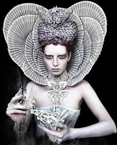 "Wonderland ""The White Queen"" by Kirsty Mitchell"