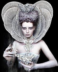 "Wonderland ""The White Queen"" by Kirsty Mitchell"