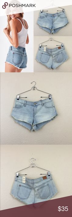Urban outfitters dolphin cut off shorts Urban outfitters bdg low rise cut off shorts size 30 new BDG Shorts Jean Shorts