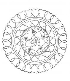 Free coloring page free-mandala-to-color-hearts-love. free-mandala-to-color-hearts-love Valentine Coloring Pages, Heart Coloring Pages, Cat Coloring Page, Mandala Coloring Pages, Animal Coloring Pages, Colouring Pages, Printable Coloring Pages, Free Coloring, Coloring Pages For Kids
