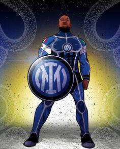 Football Today, Captain America, Milan, Cool Photos, Superhero, Football Drawings, Fictional Characters, Tattoo, Artists