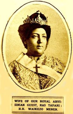 """His Majesty Haile Selassie speaks on the passing of Empress Menen (1962): """"All of you knew her well but she was more intimately known by I. She was devoutly religious and did not lose her faith even in the time of hardship. During the memorable days of Our companionship, We never had differences that needed the intervention of others. As Sarah was to Abraham, so was she obedient to I. Our wishes were mutual until we were separated by the Almighty."""""""