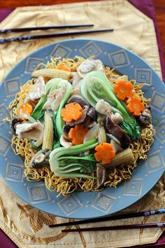 Healthy Recipes and Articles on Living Heal Crispy Chow Mein Noodles, Asian Recipes, Ethnic Recipes, Asian Foods, Chinese Recipes, Hawaiian Recipes, Vietnamese Recipes, Chinese Cooking Wine, Chinese Food