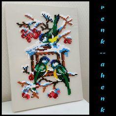Birds hama perler art by renk__ahenk