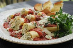 Cheese Lover's Manicotti