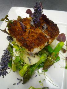 lavender crusted mahi