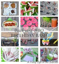 "Photo 1 of 8: BBQ / Birthday ""Backyard BBQ Birthday Bash"" | Catch My Party"