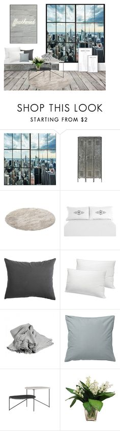 """home"" by sascha-haarup on Polyvore featuring interior, interiors, interior design, home, home decor, interior decorating, American Vintage, Soft-Tex and ferm LIVING"