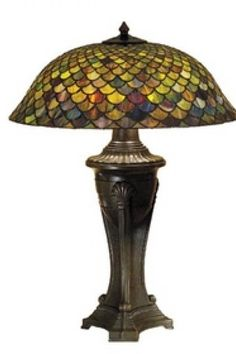 $434.89 - 30 Inch H Tiffany Fishscale Table Lamp Table Lamps. If you like this, drop me a message. we we can also negotiate! Shop and Own it! ;) Click on link to view more http://www.hipswap.com/shop/shop2ownnegotiate