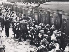 Liverpool Lime Street Station: The children of Liverpool prepare to become evacuees during WWII.