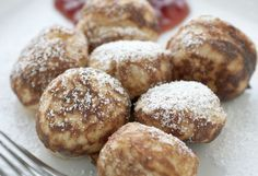 Delicious Danish Delicacy: Light fuffy Aebleskiver Pancake Balls gotta try yhis What's For Breakfast, Breakfast Pancakes, Breakfast Items, Breakfast Dishes, Breakfast Recipes, Swedish Pancakes, Mini Pancakes, Brunch Recipes, Dessert Recipes