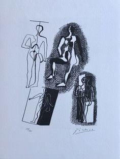 Pablo Picasso | Hélène chez Archimède Planche XI (1972) | Available for Sale | Artsy
