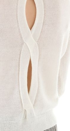 -cut out knit  - STYLE DECORUM http://www.styledecorum.com/
