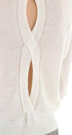 -cut out knit - STYLE DECORUM http://www.styledecorum.com/